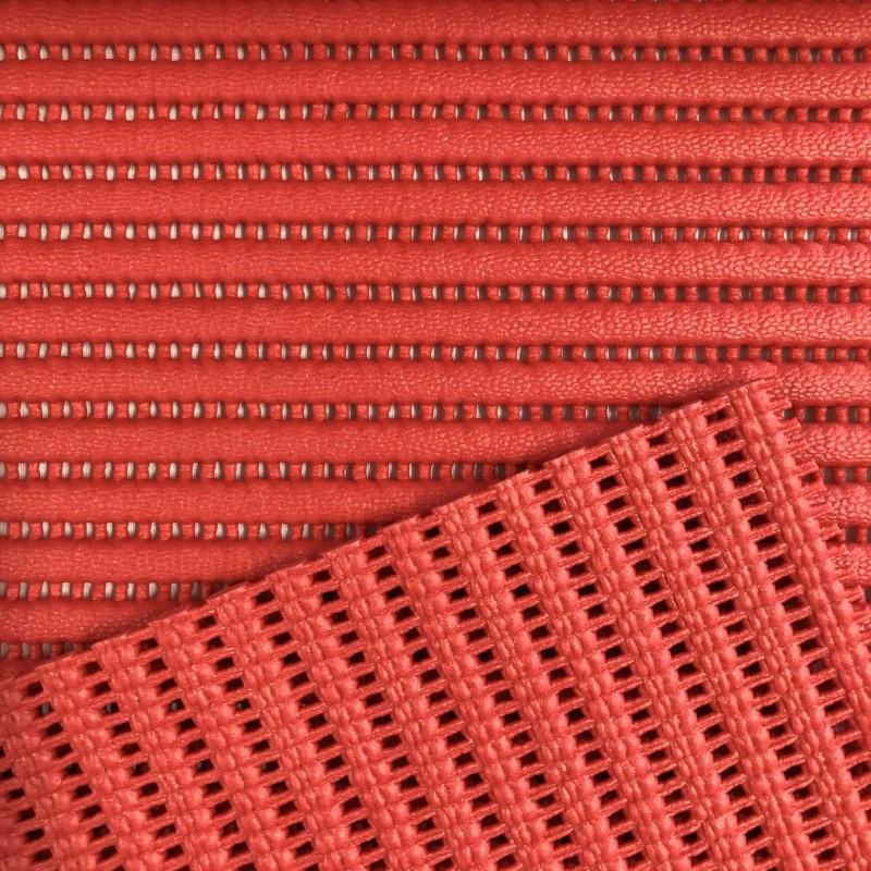 Tapete Passadeira Lisa - 0,43m largura - Vermelho