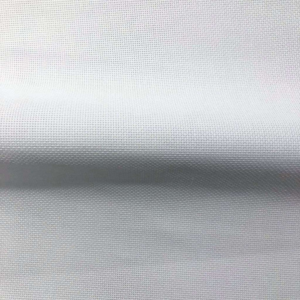 Tecido Etamine para Bordar - 100% Algodão - Branco