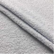 Tecido Felpa Atoalhado - 100% Algodão - 1,40m Largura - Branco
