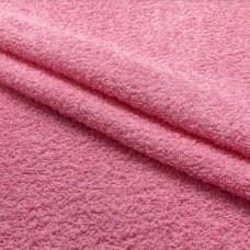 Tecido Felpa Atoalhado - 100% Algodão - 1,40m Largura - Rosa bebê