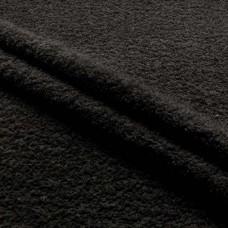 Tecido Felpa Atoalhado - 100% Algodão - 1,40m Largura - Preto