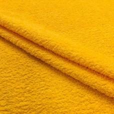 Tecido Felpa Atoalhado - 100% Algodão - 1,40m Largura - Amarelo ouro