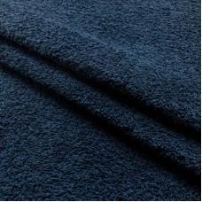 Tecido Felpa Atoalhado - 100% Algodão - 1,40m Largura - Azul marinho