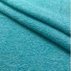 Tecido Felpa Atoalhado - 100% Algodão - 1,40m Largura - Azul celeste