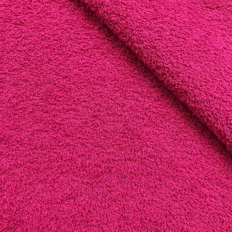 Tecido Felpa Atoalhado (Toalha) - 100% Algodão - 1,40m Largura - Pink