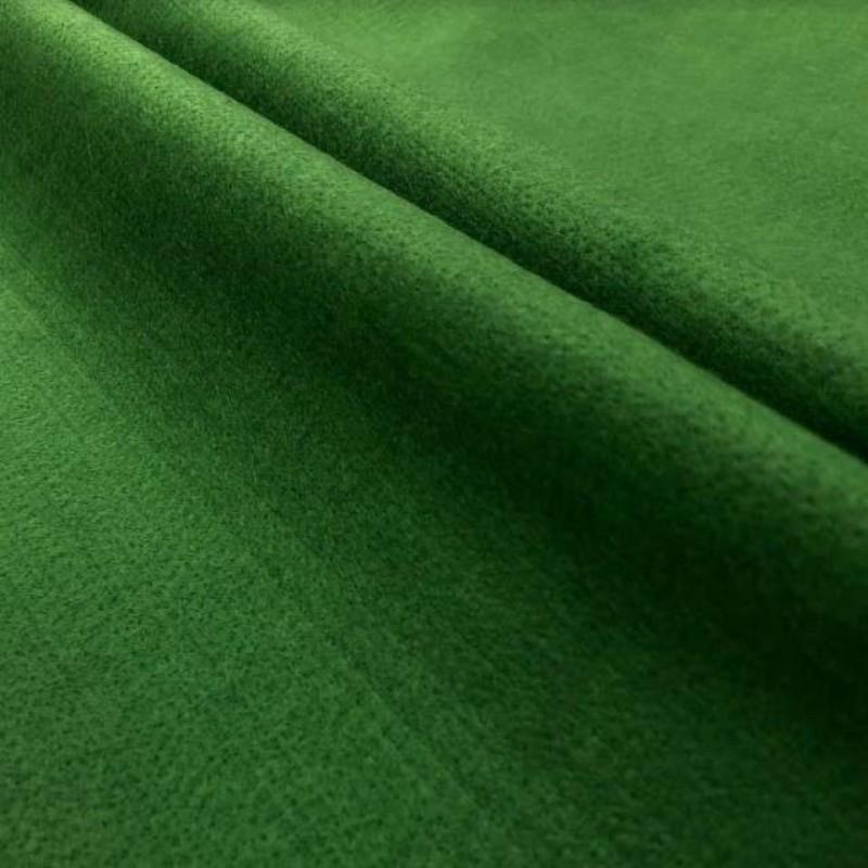 Tecido Feltro Liso Santa Fé - 100% Poliéster - 1,40m largura - Verde bilhar