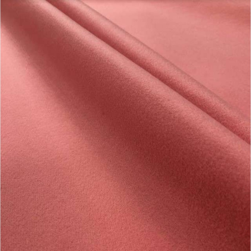 Tecido Feltro Liso Santa Fé - 100% Poliéster - 1,40m largura - Rosa claro