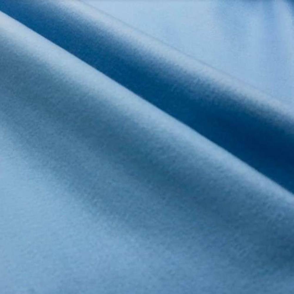 Tecido Feltro Liso Santa Fé - 100% Poliéster - 1,40m largura - Azul claro