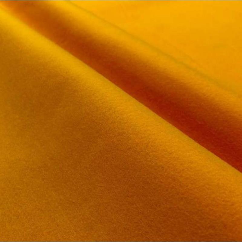 Tecido Feltro Liso Santa Fé - 100% Poliéster - 1,40m largura - Amarelo ouro