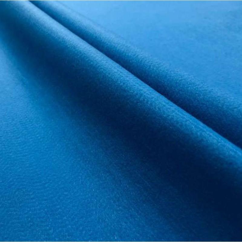 Tecido Feltro Liso Santa Fé - 100% Poliéster - 1,40m largura - Azul oceano