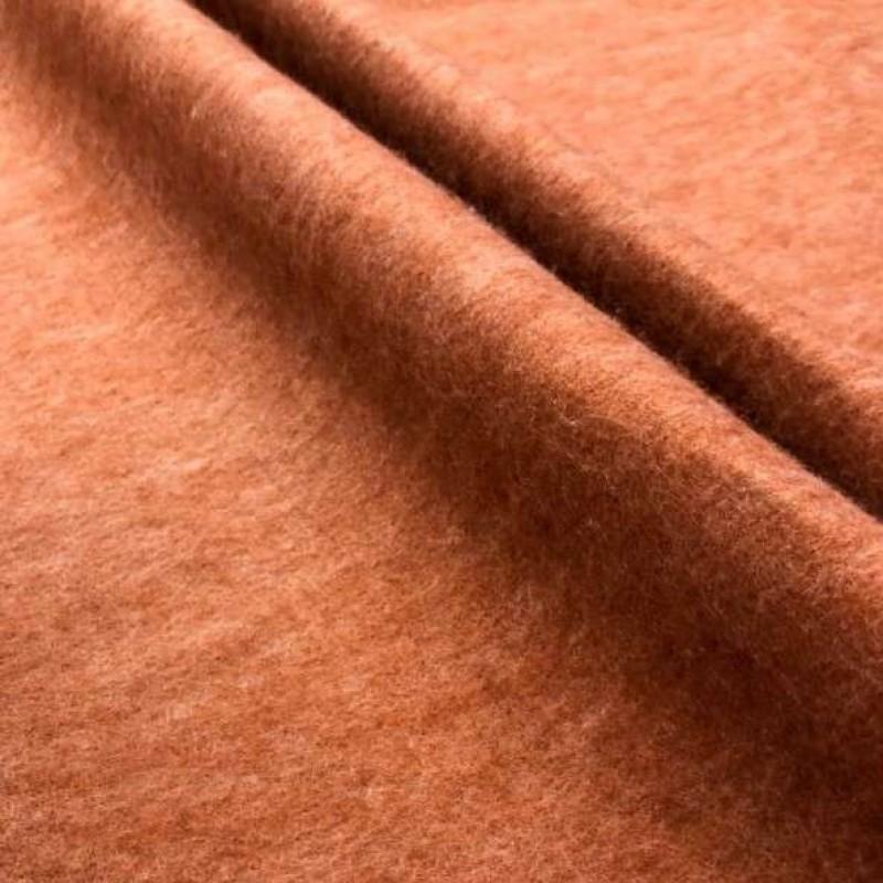 Tecido Feltro Liso Santa Fé - 100% Poliéster - 1,40m largura - Marrom mescla