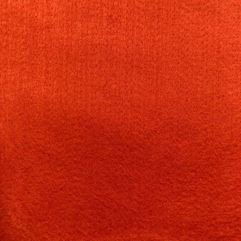 Tecido Feltro Liso Santa Fé - 100% Poliéster - 1,40m largura - Laranja