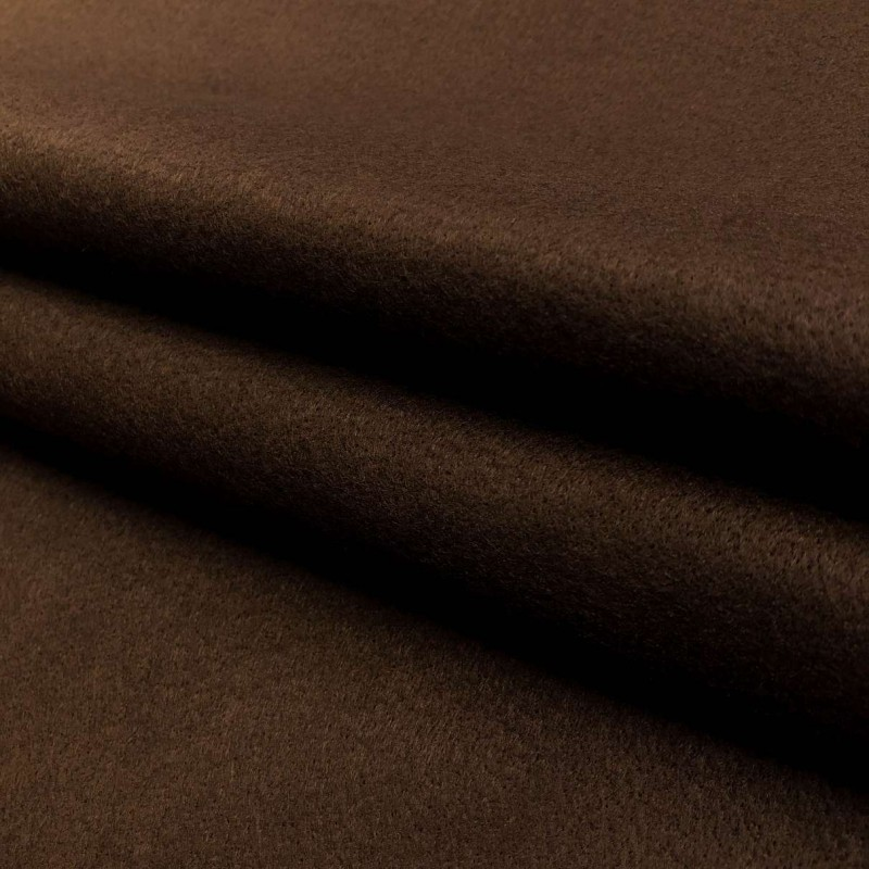 Tecido Feltro Liso Santa Fé - 100% Poliéster - 1,40m largura - Marrom terra