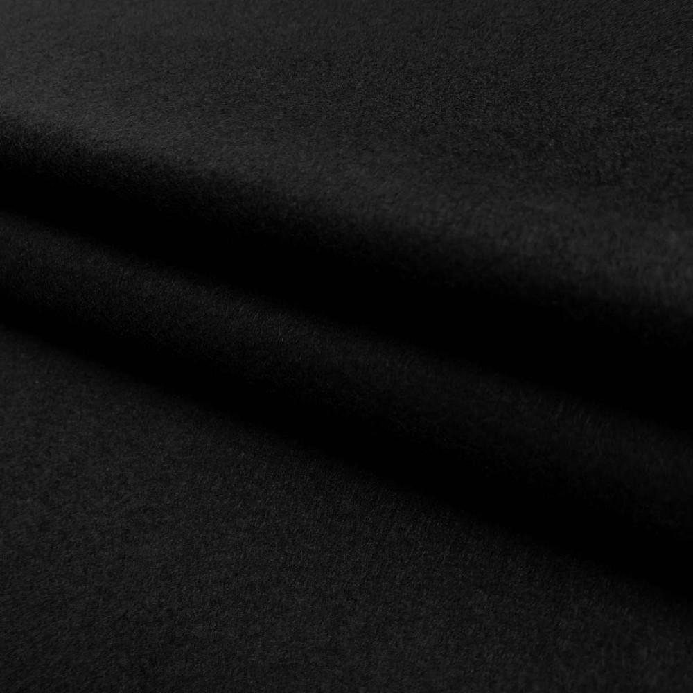 Tecido Feltro Liso Santa Fé - 100% Poliéster - 1,40m largura - Preto