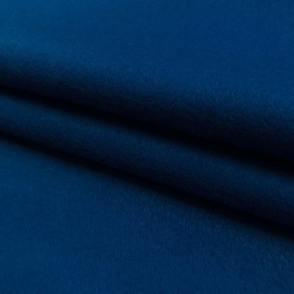 Tecido Feltro Liso Santa Fé - 100% Poliéster - 1,40m largura - Azul anil