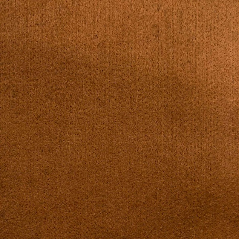 Tecido Feltro Liso Santa Fé - 100% Poliéster - 1,40m largura - Caramelo