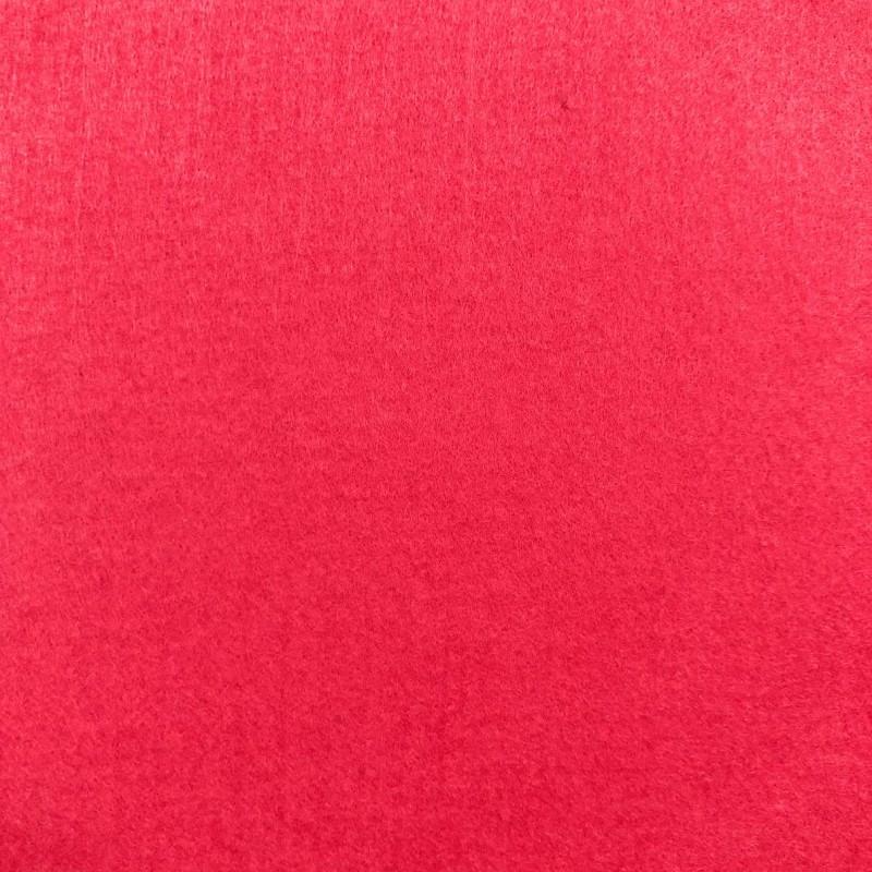 Tecido Feltro Liso Santa Fé - 100% Poliéster - 1,40m largura - Rubí cítrico