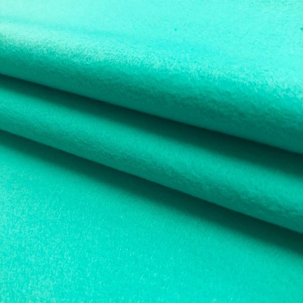 Tecido Feltro Liso Santa Fé - 100% Poliéster - 1,40m largura - Candy verde