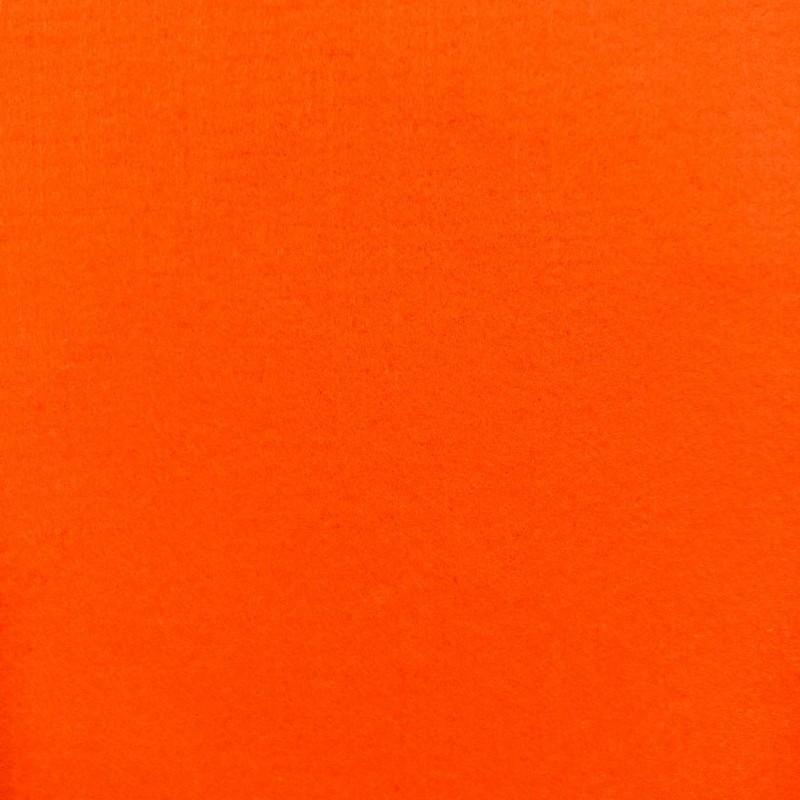 Tecido Feltro Liso Santa Fé - 100% Poliéster - 1,40m largura - Tangerina amalf