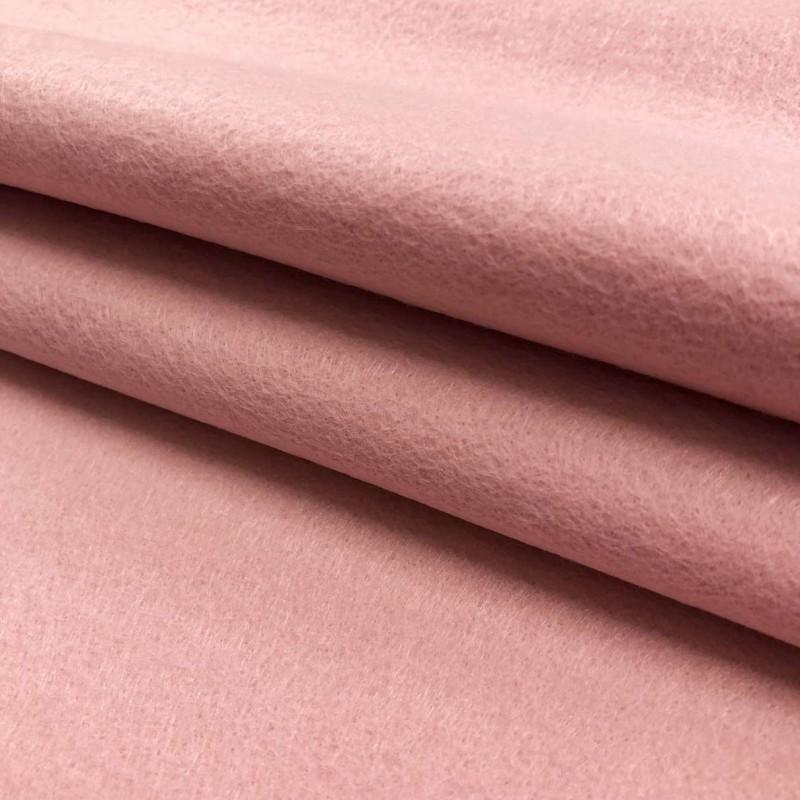 Tecido Feltro Liso Santa Fé - 100% Poliéster - 1,40m largura - Rosa poente
