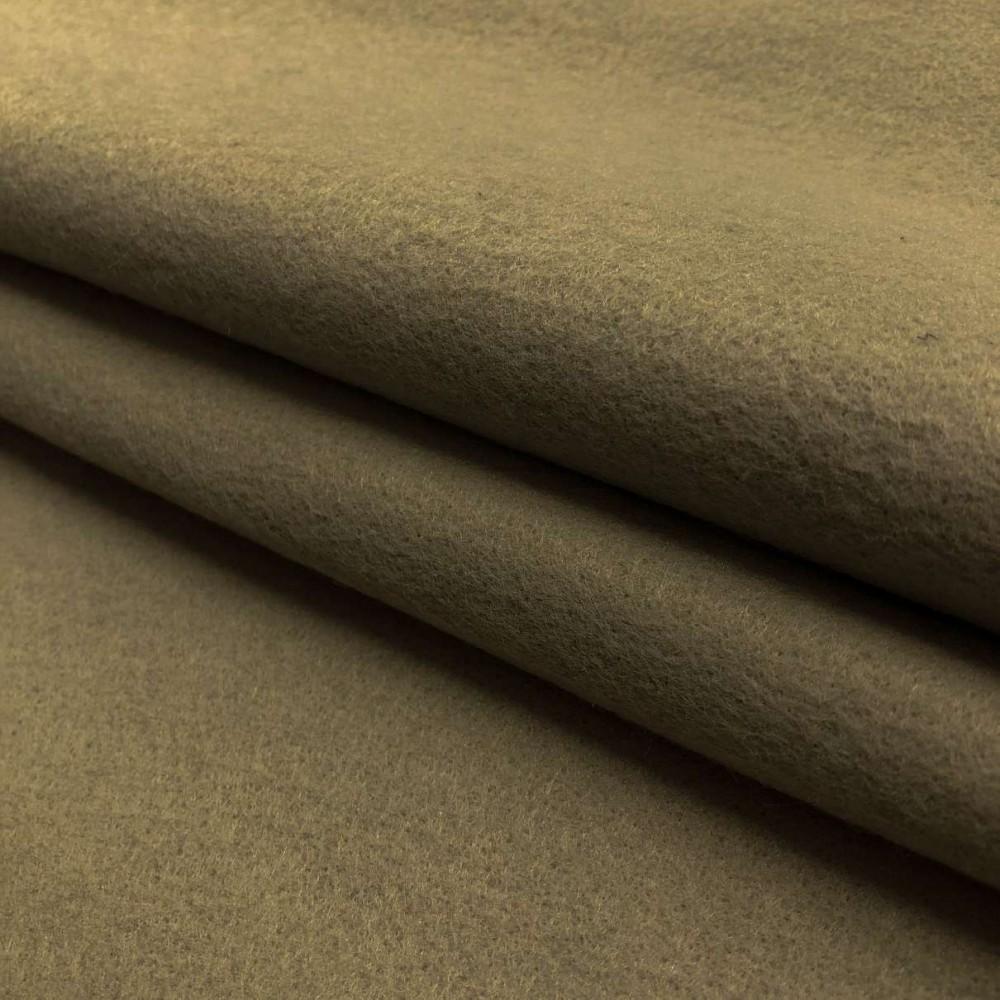 Tecido Feltro Liso Santa Fé - 100% Poliéster - 1,40m largura - Caqui