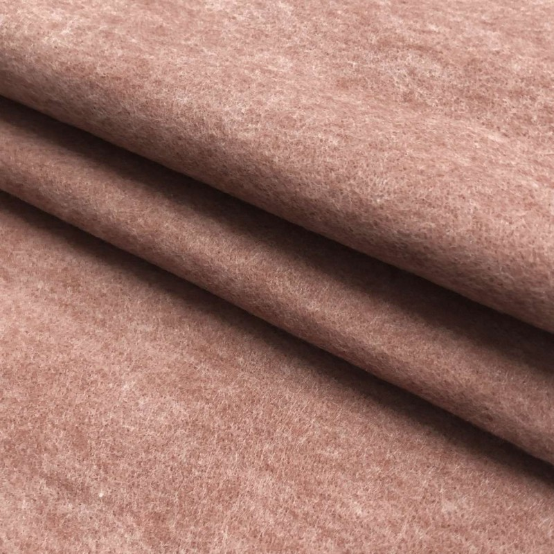 Tecido Feltro Liso Santa Fé - 100% Poliéster - 1,40m largura - Marrom claro