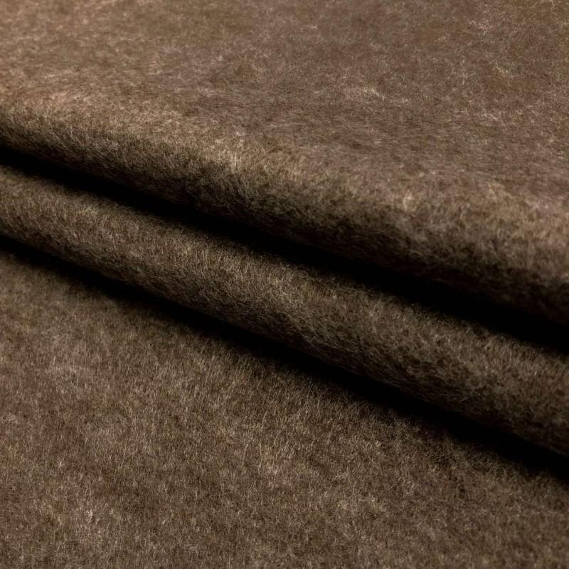 Tecido Feltro Liso Santa Fé - 100% Poliéster - 1,40m largura - Café mescla