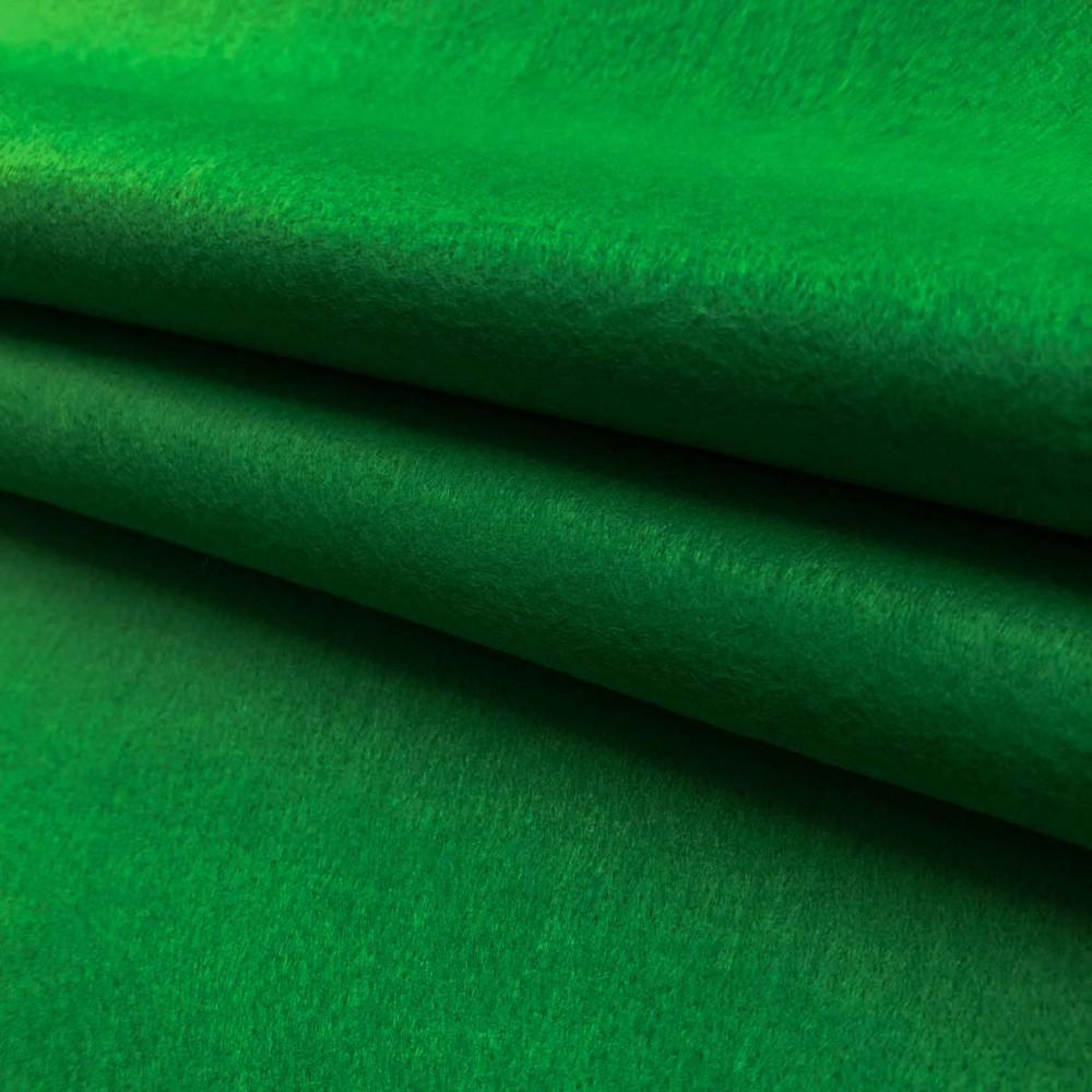 Tecido Feltro Liso Santa Fé - 100% Poliéster - 1,40m largura - Verde provence