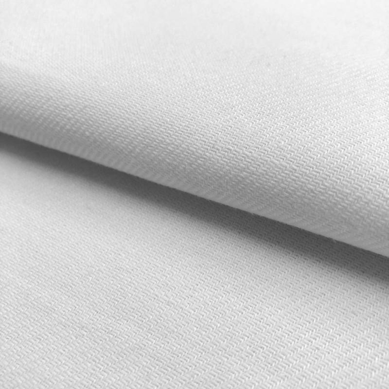 Tecido Flanela Cueiro Lisa - 100% Algodão - Branco