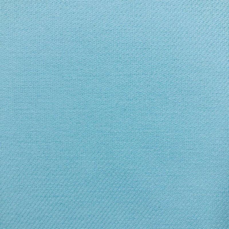 Tecido Flanela Cueiro Lisa - 100% Algodão - Azul turquesa
