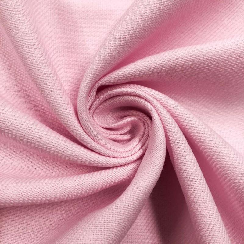 Tecido Flanela Cueiro Lisa - 100% Algodão - Rosa