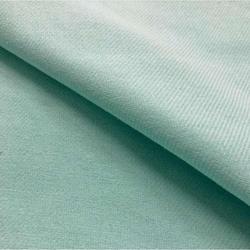 Tecido Flanela Cueiro Lisa - 100% Algodão - Verde água