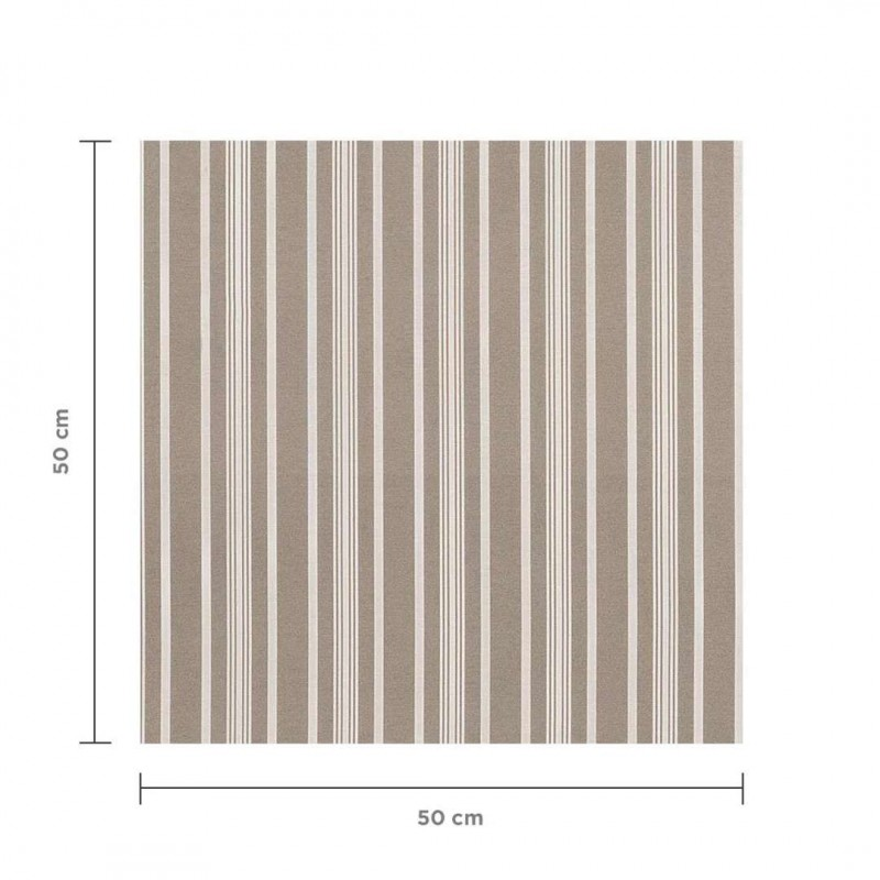 Tecido Impermeável Acquablock Karsten - Friso - 1,40m largura - Cor 2 - fendi