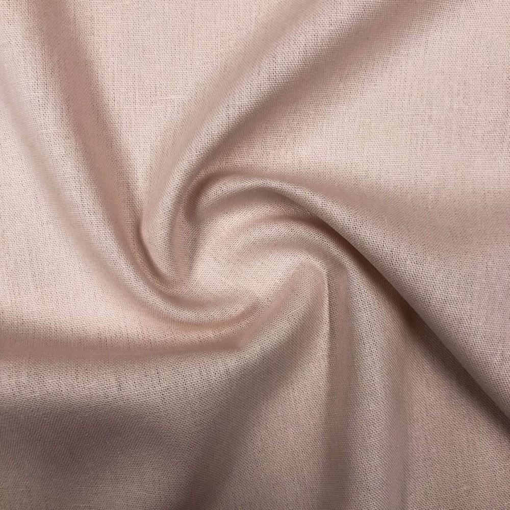 Tecido Linho - 55% Linho 45% Viscose - 1,33m Largura - Nude