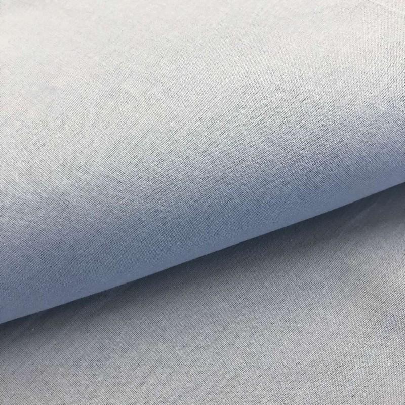 Tecido Percal 200 Fios Liso - 100% Algodão - 2,50m Largura - Branco