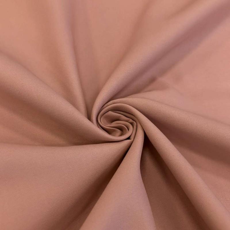 Tecido Percal 400 Fios Liso - 100% Algodão - 2,80m largura - Rosê