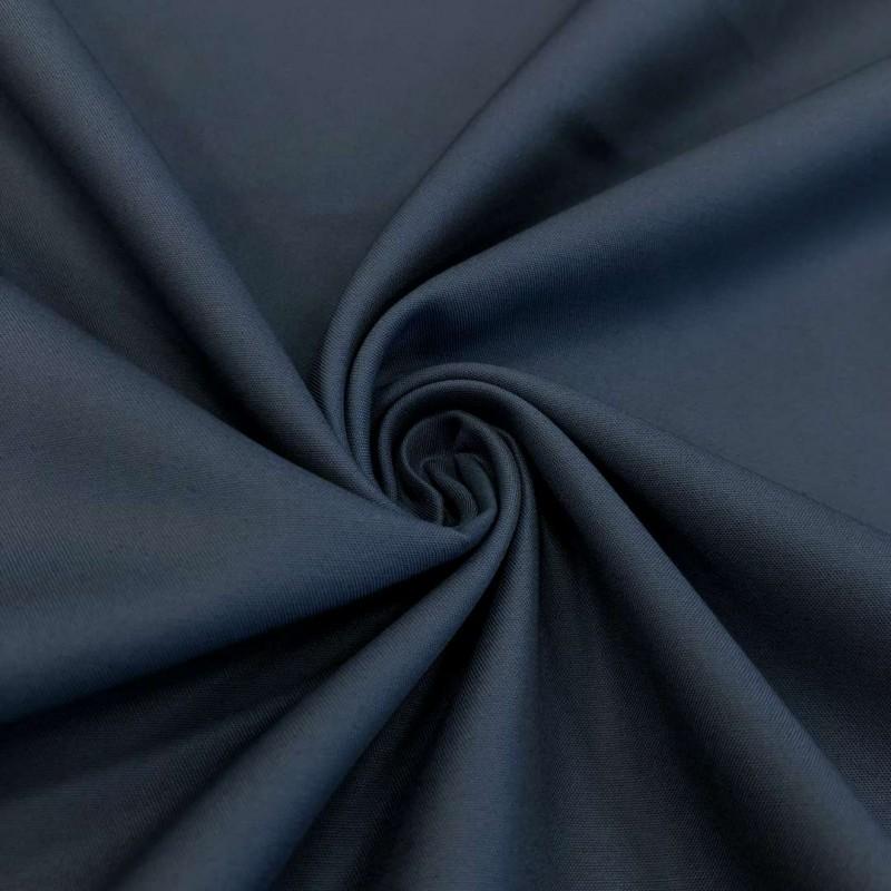 Tecido Percal 400 Fios Liso - 100% Algodão - 2,80m largura - Azul petroleo