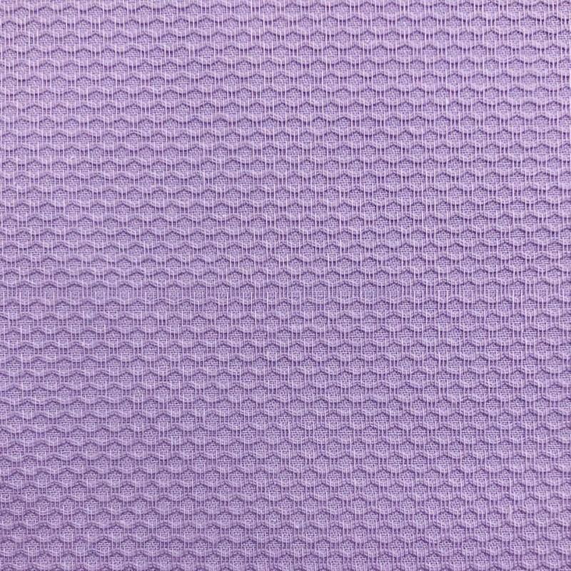 Tecido Piquet Grão de Arroz - 100% Algodão - 1,40m largura - Lilás
