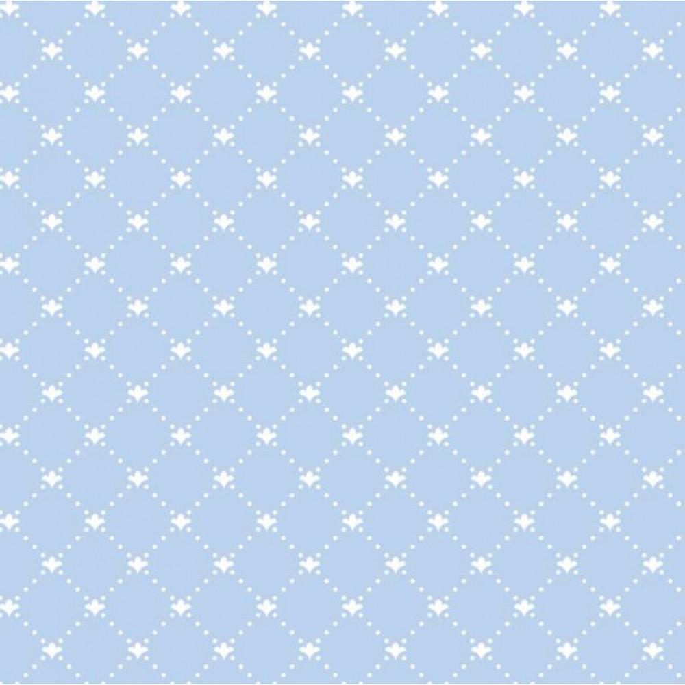Tecido Tricoline - Arabesco Pontilhado (Poá) - 100% Algodão - 1,50m largura - Variante 82