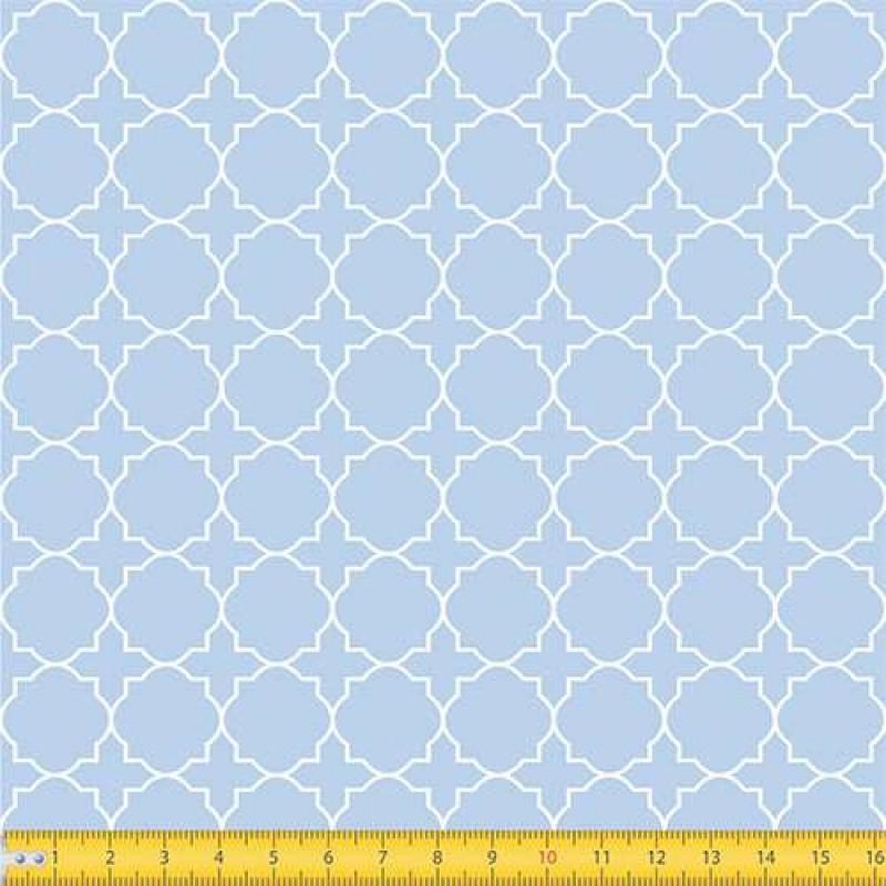 Tecido Tricoline - Geométrico - 100% Algodão - 1,50m largura - Variante 82