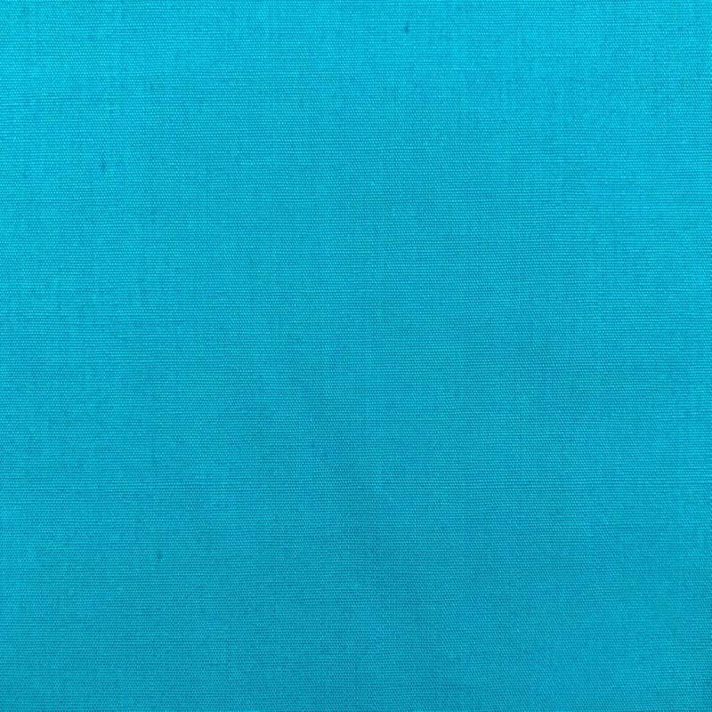Tecido Tricoline Lisa - 100% Algodão - 1,50m largura - Azul turquesa