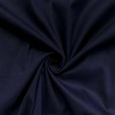 Tecido Tricoline Lisa - 100% Algodão - 1,50m largura - Azul marinho noite
