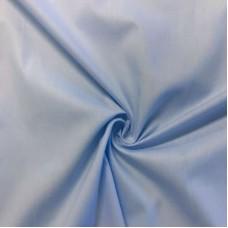 Tecido Tricoline Lisa - 100% Algodão - 1,50m largura - Azul bebê