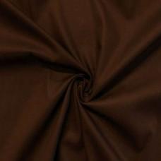 Tecido Tricoline Lisa - 100% Algodão - 1,50m largura - Marrom