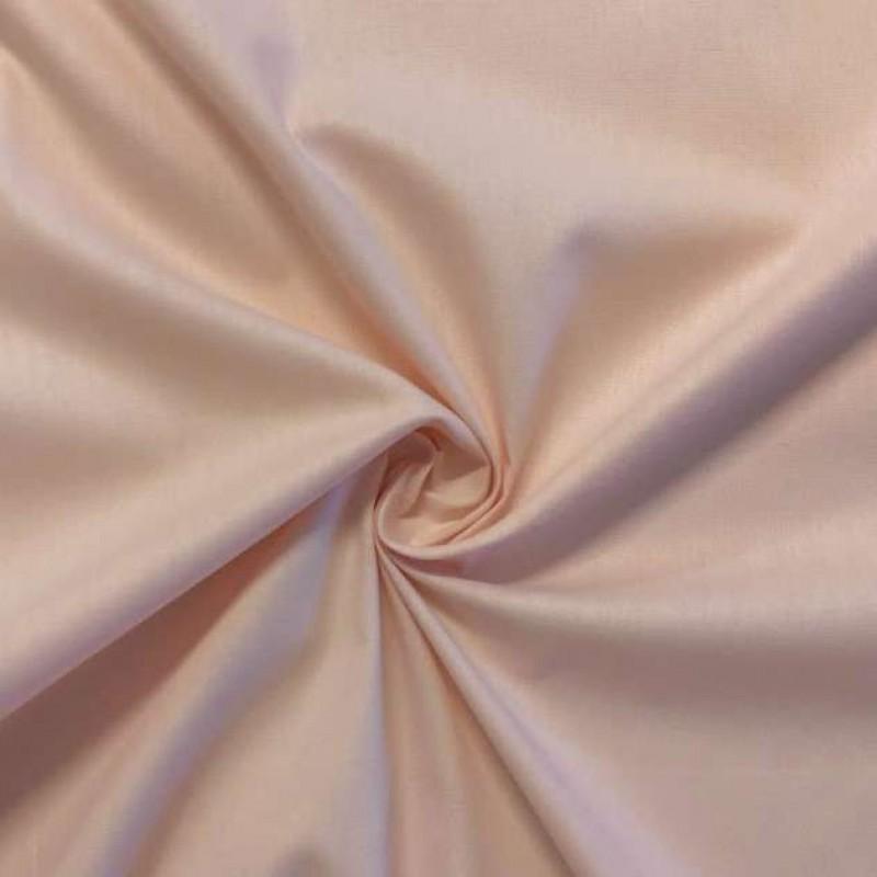 Tecido Tricoline Lisa - 100% Algodão - 1,50m largura - Nude
