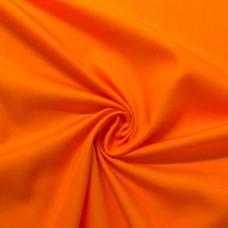 Tecido Tricoline Lisa - 100% Algodão - 1,50m largura - Laranja claro
