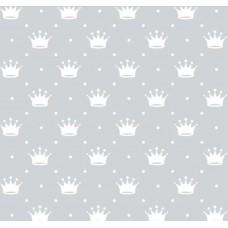 Tecido Tricoline - Mini Coroa com Poá - 100% Algodão - 1,50m largura - Variante 91
