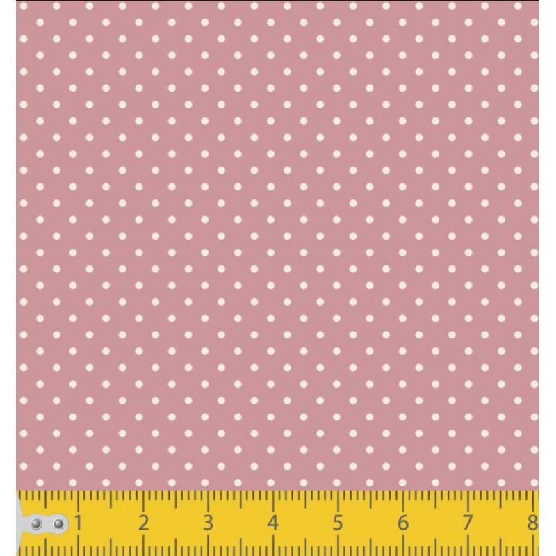 Tecido Tricoline - Poá Bola 1 - 100% Algodão - 1,50m largura - Variante 130