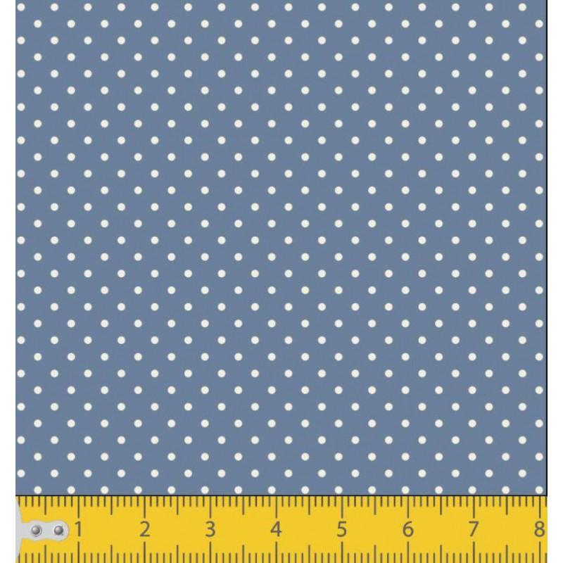 Tecido Tricoline - Poá Bola 1 - 100% Algodão - 1,50m largura - Variante 131