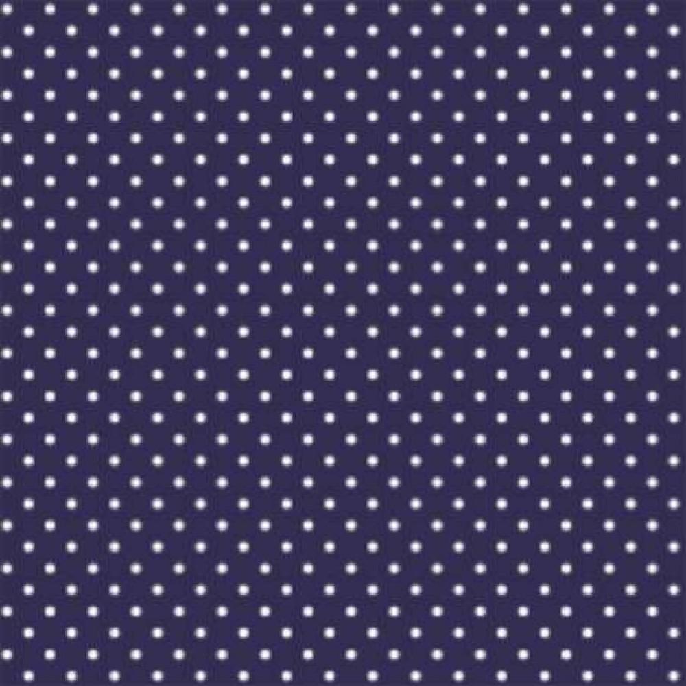 Tecido Tricoline - Poá Bola 1 - 100% Algodão - 1,50m largura - Variante 605